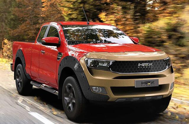 澳洲H2X Global發表氫燃料電池Ford Ranger皮卡